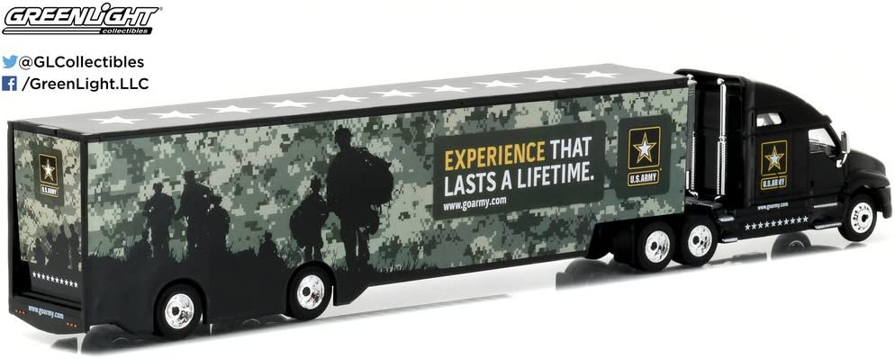 Greenlight 1:64 United States Army Kenworth T2000 Hauler Hobby Exclusive