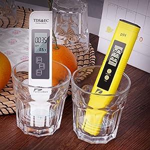 Water Quality Test Meter Pancellent TDS PH EC Temperature 4 in 1 Set