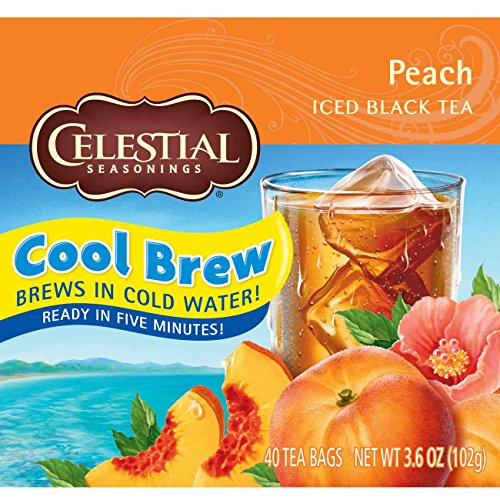Celestial Seasonings Iced Peach Count