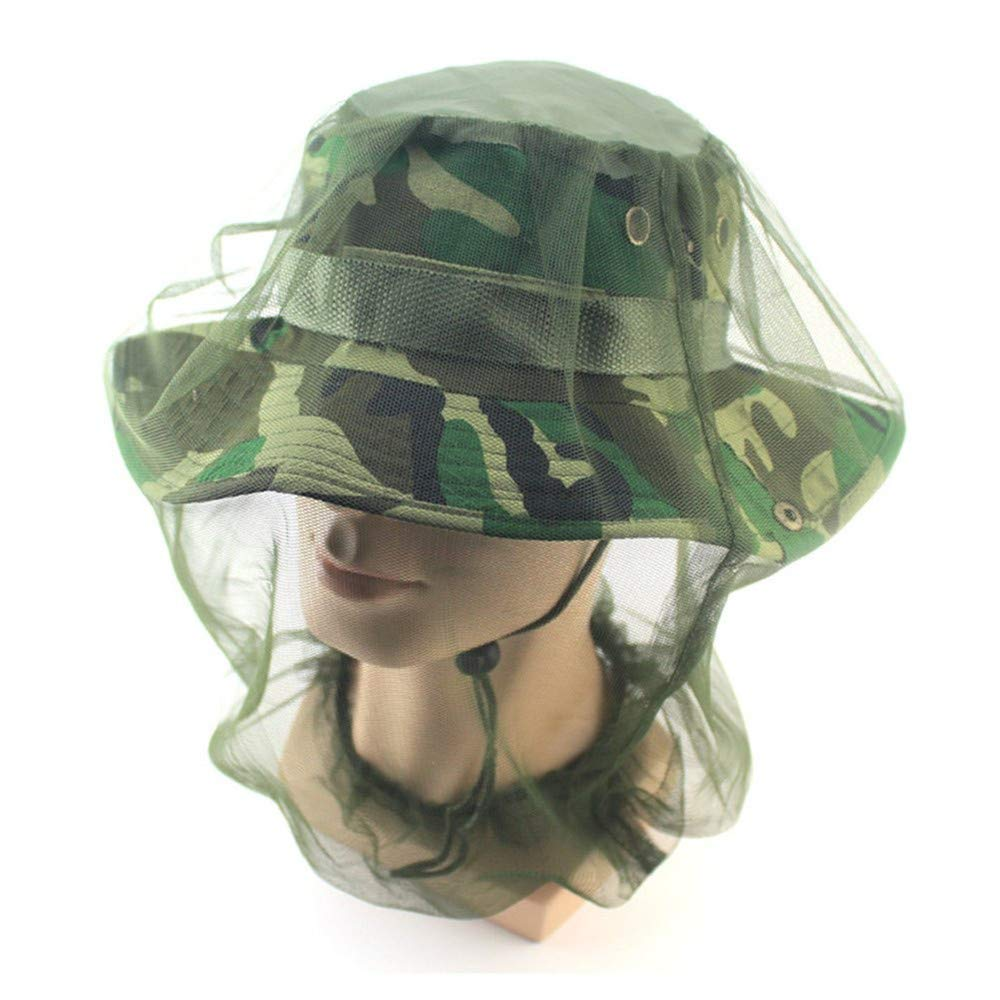 2pcs Premium Mosquito Head Net Mesh, Ultra Large, Extra Fine Holes, Bug Face Shield, Soft Durable Fly Screen,Bug Net Mosquito Hat for Travelling Camping or Fishing.