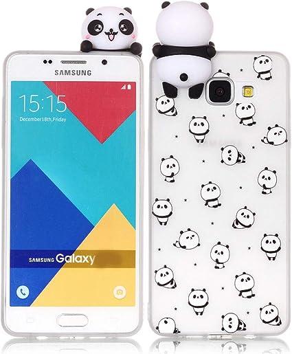 Leton Funda para Samsung Galaxy A5 2016 Silicona 3D Suave Flexible ...