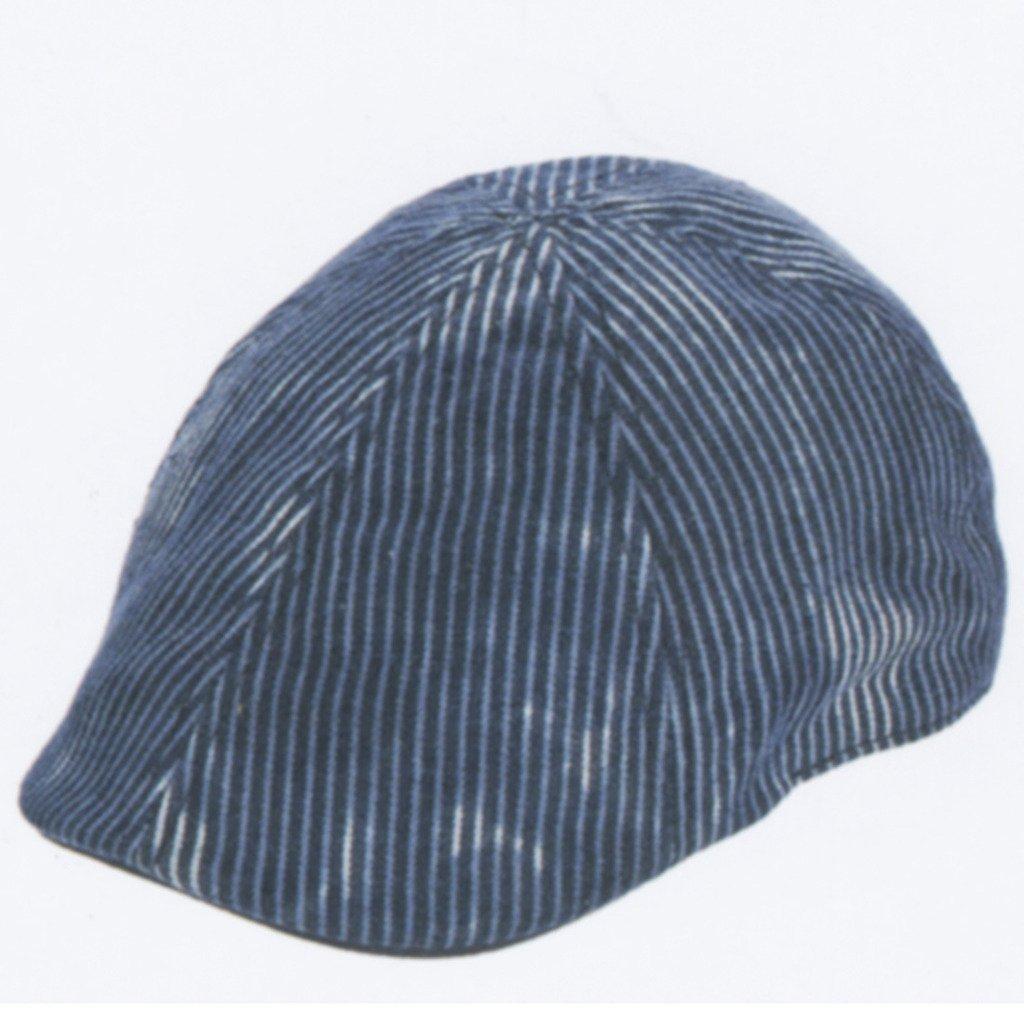 Brooklyn Hat Co Union Pinstripe Ivy Cap Denim