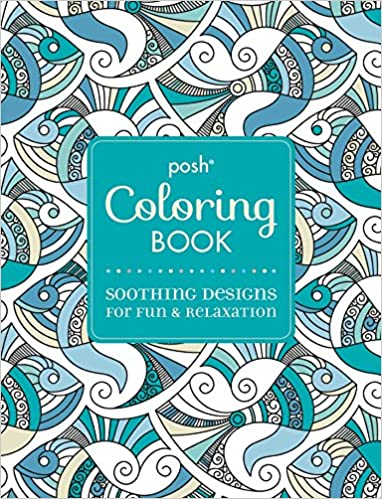 Buy Posh Adult Coloring Book Soothing Designs For Fun Relaxation Books Online At Low Prices In India