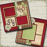 #5: HOPE & JOY - Premade Scrapbook Pages - EZ Layout 299