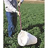 GEMPLER'S Large Professional Insect Sweep Net with Heavy Duty 15 inch Diameter Muslin Net and 36 inch Long Aluminum Handle plus Detachable Hoop for Easy Storage