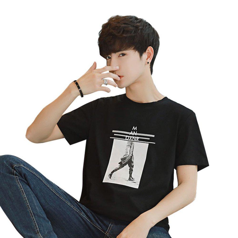 YT Kurzärmeliges T-Shirt mit Rundhalsausschnitt