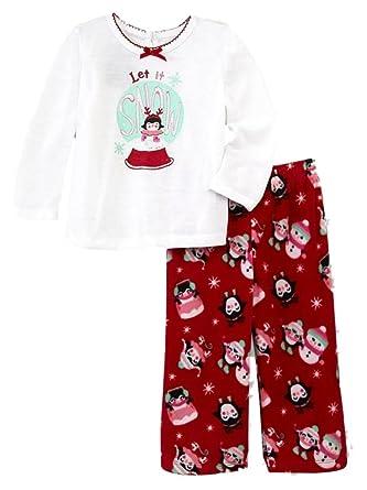 a824f92dc8ea Amazon.com  Joe Boxer Infant Toddler Girls Let It Snow Penguin ...