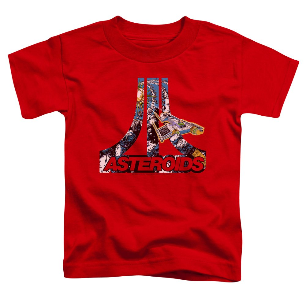 Atari Asteroids Atari Unisex Toddler T Shirt for Boys and Girls