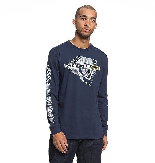 DC Shoes Phaser - Camiseta de Manga Larga para Hombre EDYZT03857 ...