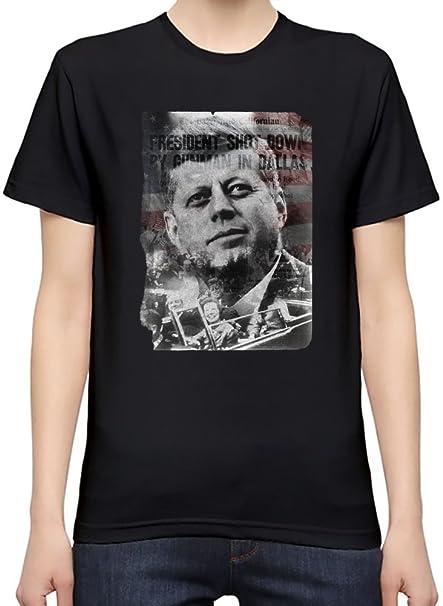 the latest d4a8a 44949 JFK T-Shirt per Donne Small: Amazon.it: Abbigliamento