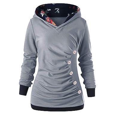 the best attitude 767ee e0ff7 Sweatshirts Hoodies für Damen Oberteil Hemd Löcher Pullover ...