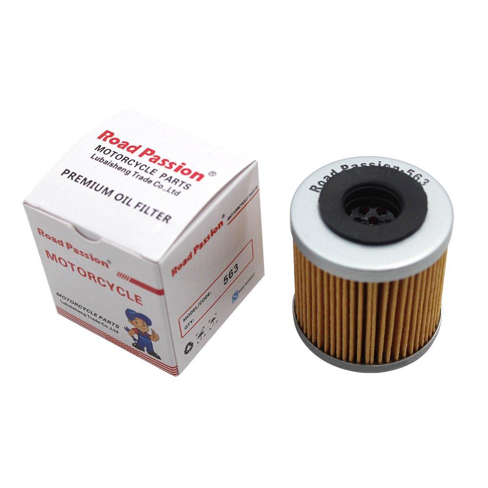 Road Passion Filtro de Aceite para APRILIA RXV450 ENDURO 449 2006-2012//RXV550 ENDURO 549 2006-2012//RS4 125 124 2011-2012 2015-2016