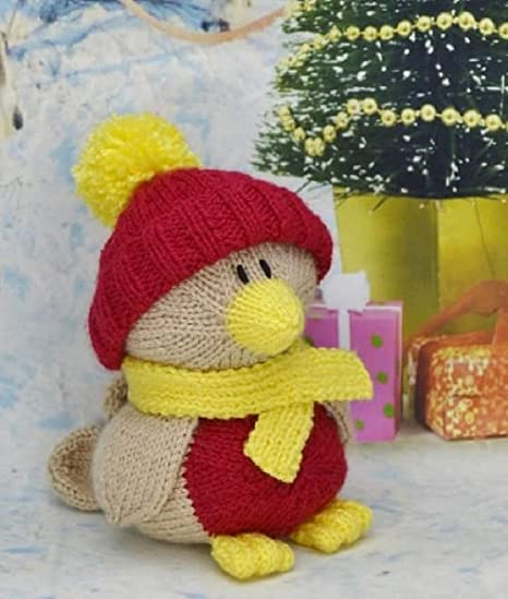 ee123862f51e KNITTING PATTERN Robin Soft Toy From Knitting by Post  Amazon.co.uk   Kitchen   Home