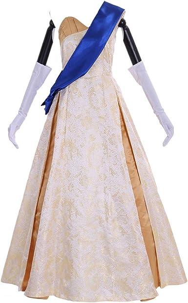 Amazon Com 1791 S Lady Princess Dress Anastasia Dress Ball Gown Cosplay Costume Clothing