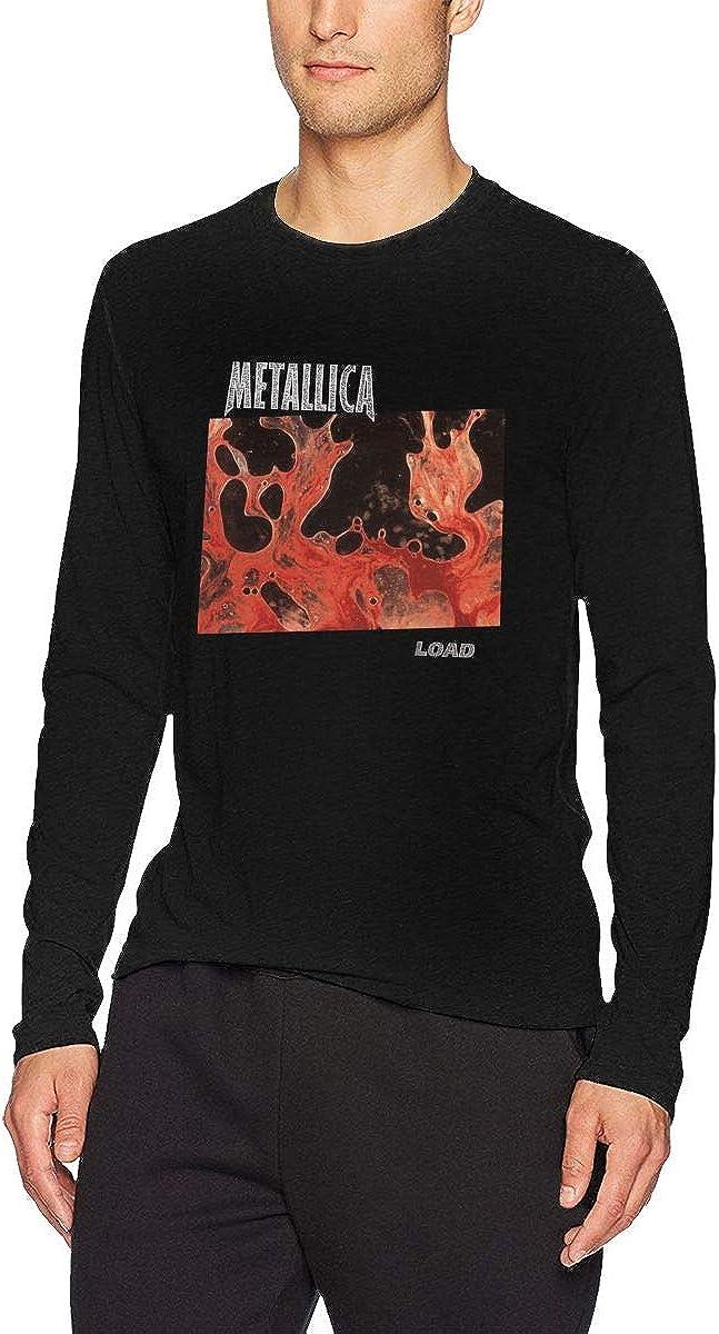 HoodLgd Metallica Load - Camiseta de Manga Larga para Hombre, Color Negro - Negro - Large: Amazon.es: Ropa y accesorios