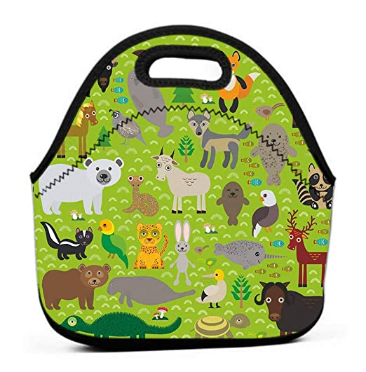 Lunch Bag with Wide Opening, Lunch Tote Bag Lunch Box ...