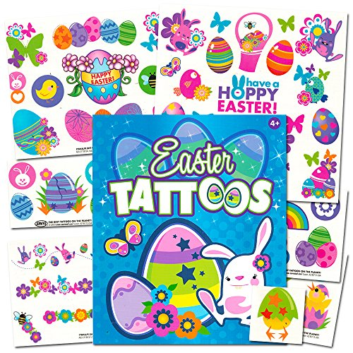 Easter Temporary Tattoos Party Chicks product image