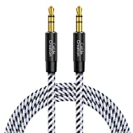 CableCreation 3.5mm Aux Cord, 10 Feet 3.5mm Male to Male Auxiliary Audio Cable Compatible with Headphones, iPods, iPhones, Home/Car Stereos & More, 3M