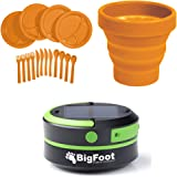 Bigfoot Outdoor Products Compact Solar Camping Lantern with USB PowerBank Great for Camping, Hiking & Go Bag