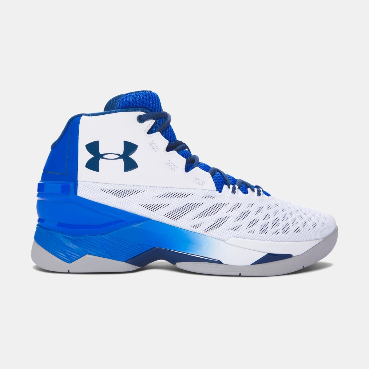 [アンダーアーマー] UNDER ARMOUR メンズ UA Longshot バスケットボールシューズ [並行輸入品] B074WP54HV 32.0 cm White / ULTRA BLUE