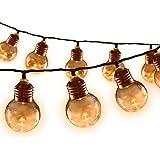 Jingle Jolley 50 LED Festoon Lights Christmas String Bulbs Party Wedding Garden