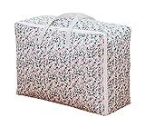 Foldable Clothes Quilt Pillow Blanket Storage Zipper Bag