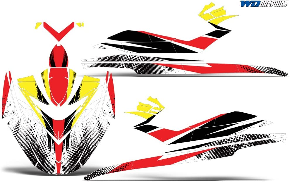 Bold Race Wholesale Decals Jet Ski Graphics kit Sticker Decal Compatible with Sea-Doo RXP 2004-2011