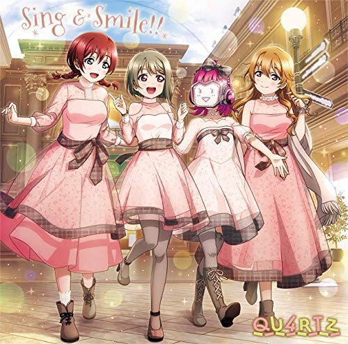 Amazon | Sing & Smile!! | QU4RTZ | アニメ | 音楽