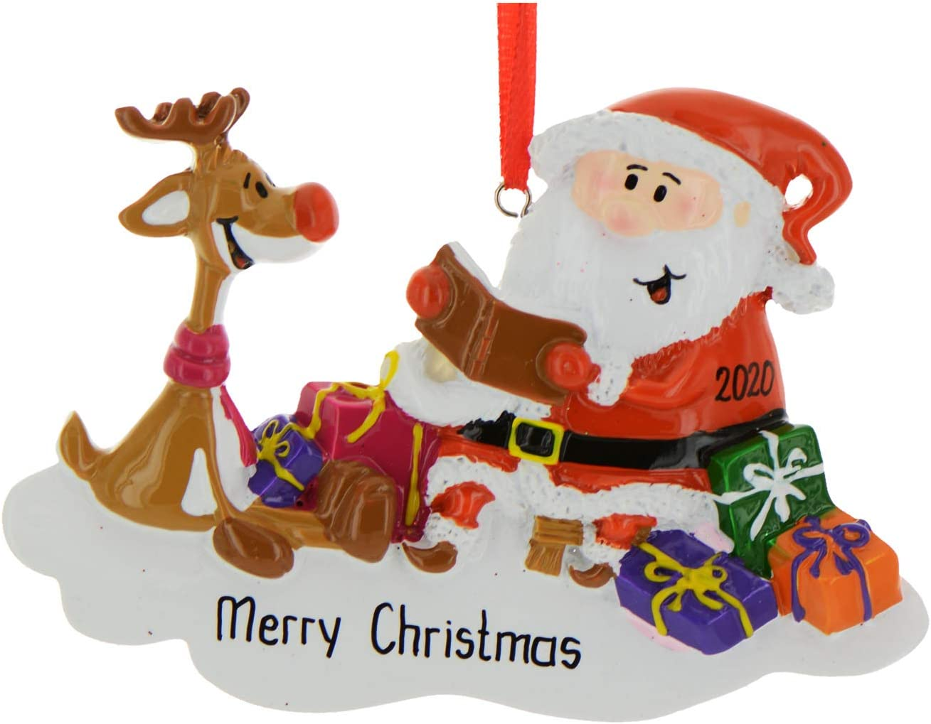 Christmas 2020 Readings For Kids Amazon.com: Personalized Santa Reading Book to Rudolph Christmas