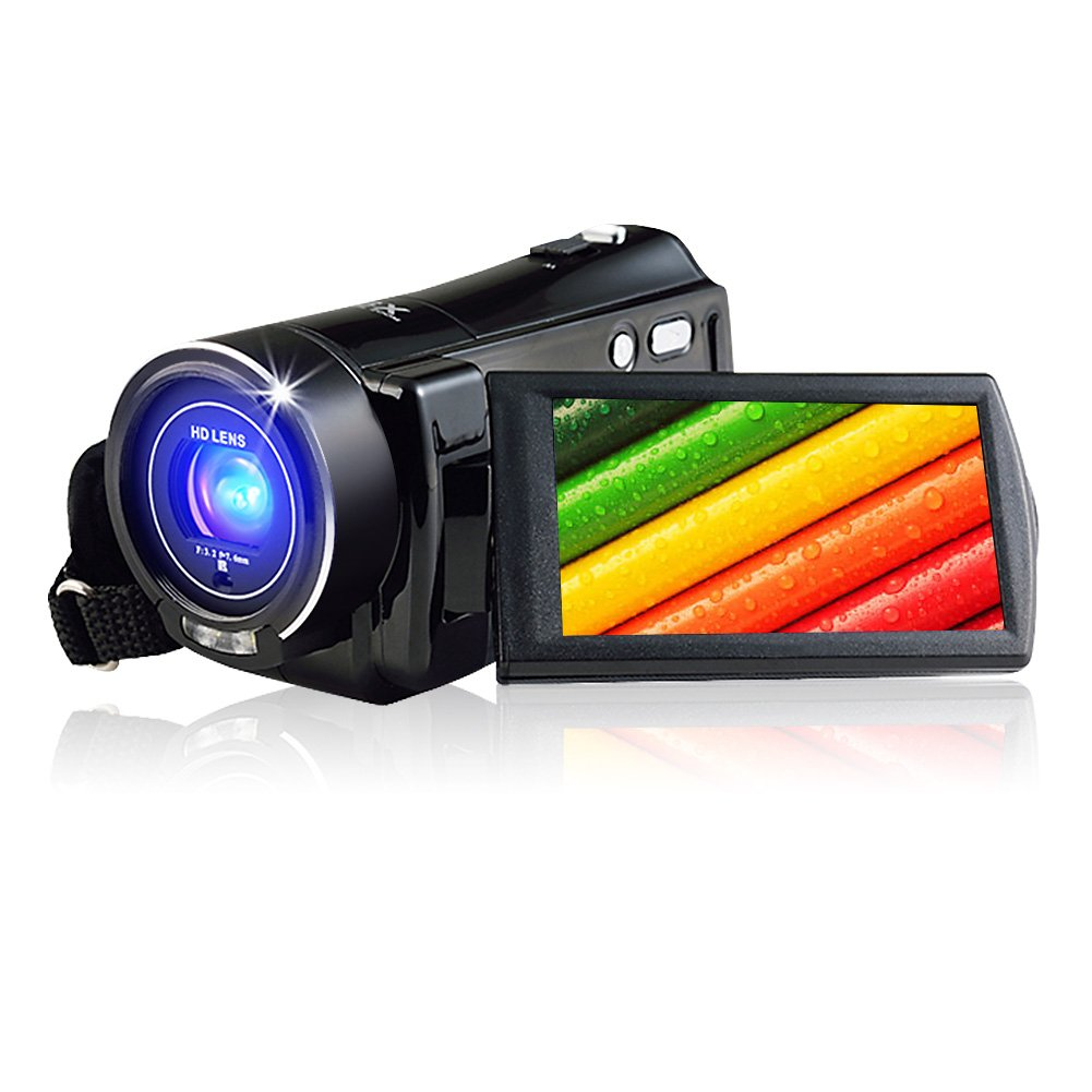 Camcorder Digital Camera Full HDMI Output HD 1080p Video Camera Support Remote Control