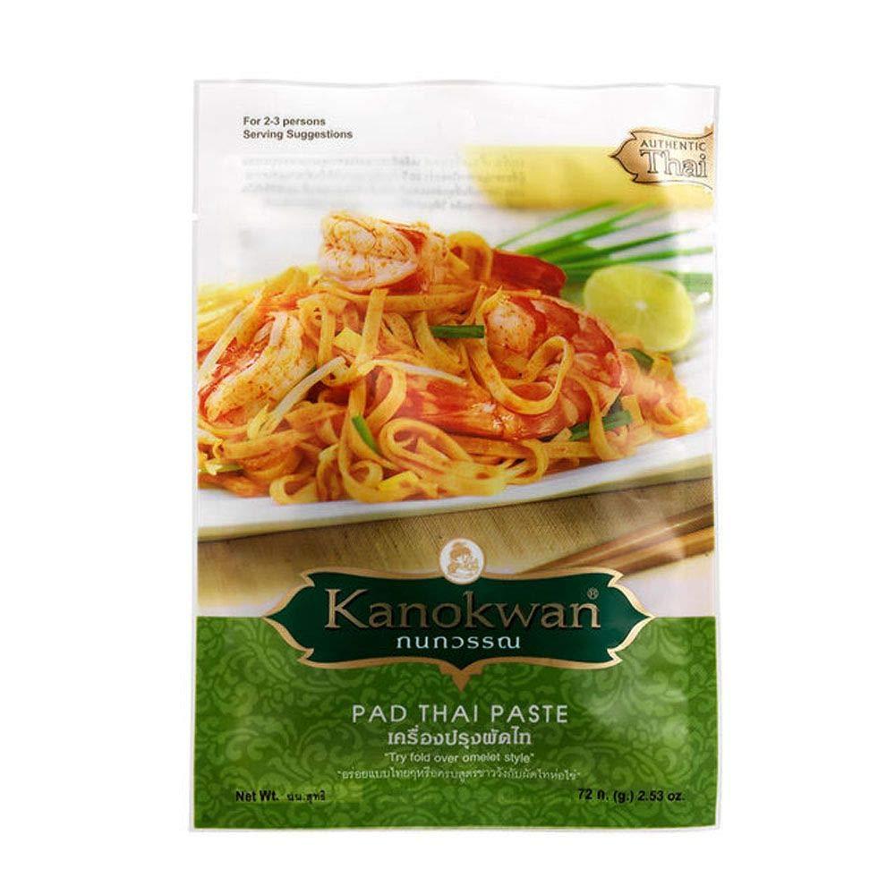 Kanokwan, Pad Thai Paste, Size 72 Gram X 2 Packs