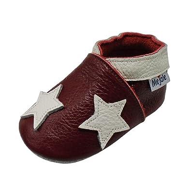 Hausschuhe Kita Schuhe Leder Krabbelschuhe Babypuschen