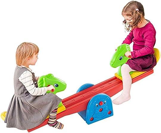 YQZ Balancín para Niños, Doble balancín Seesaw Jardín de Infantes Duradero Plástico Seesaw, Centro de Actividades Infantiles, Ejercicio Balance Infantil: Amazon.es: Hogar