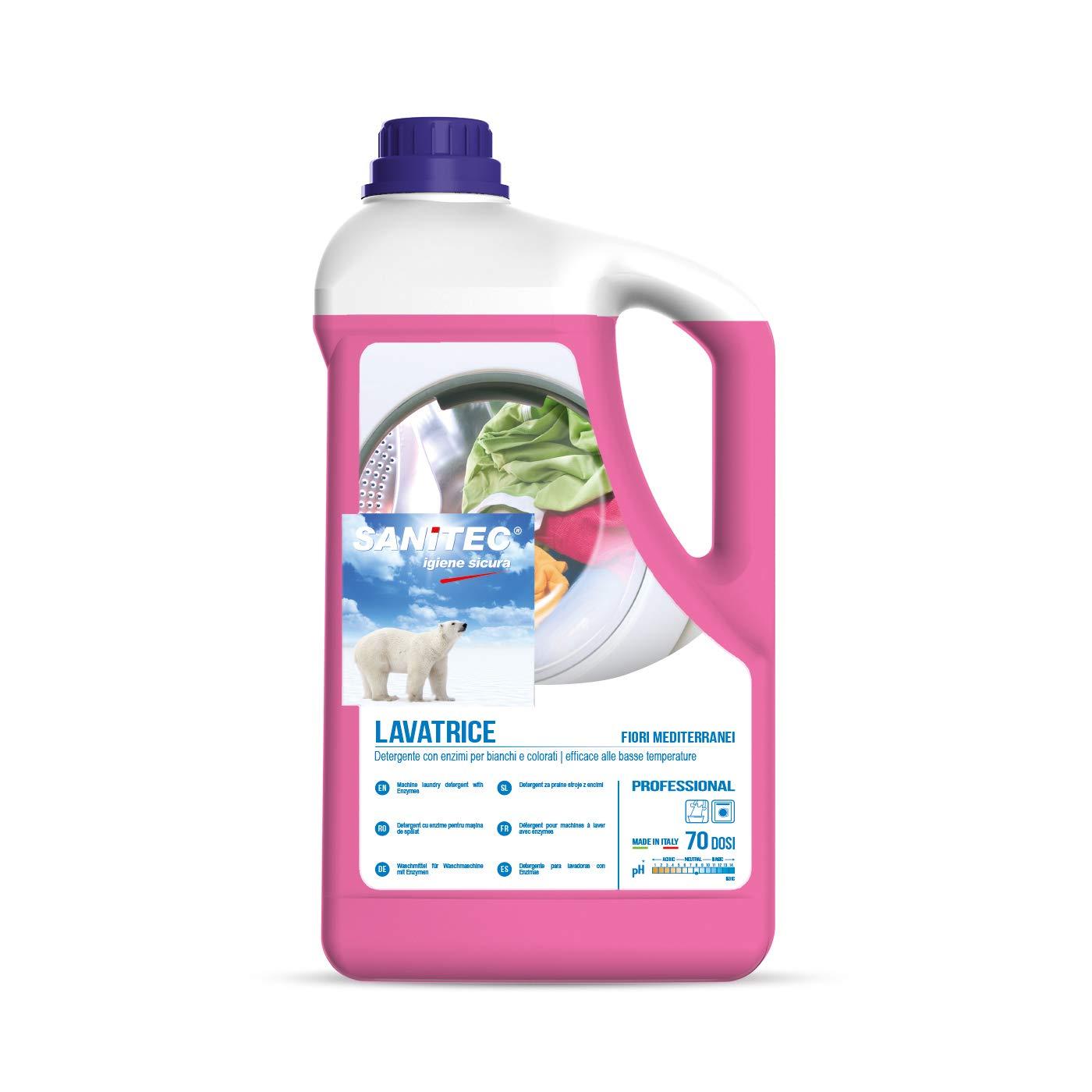 sanitec 2020 limpiador Líquido para lavadora: Amazon.es ...