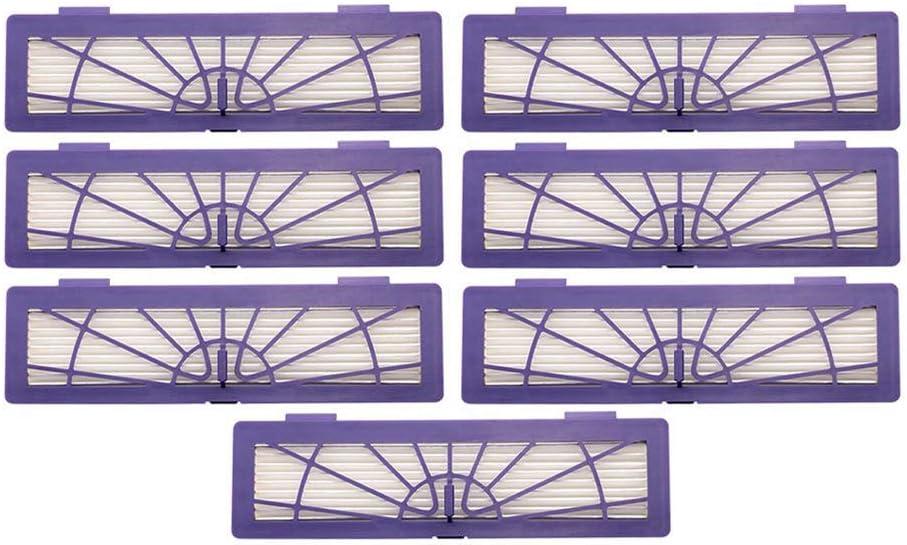 Sonline Filtro HEPA per Neato Botvac D//collegamento Serie D7 D80 D85 D3 D75 D5 70E 75 80 85 parti aspirapolvere animali domestici e allergie