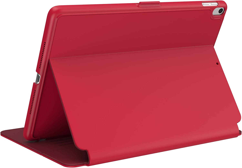 Speck Products BalanceFolio iPad Air (2019) Case (Also fits 10.5-inch iPad Pro), Dark Poppy Red/Velvet Red