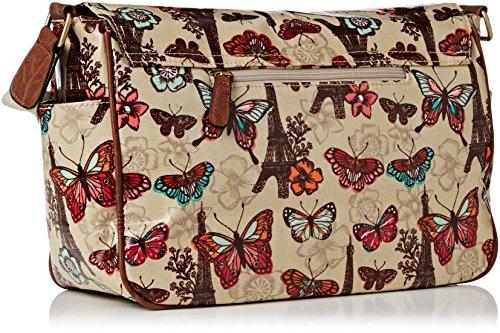 Butterfly Noel bag Satchel Womens Beige Classy Beige Paris Womens SWANKYSWANS waRtq