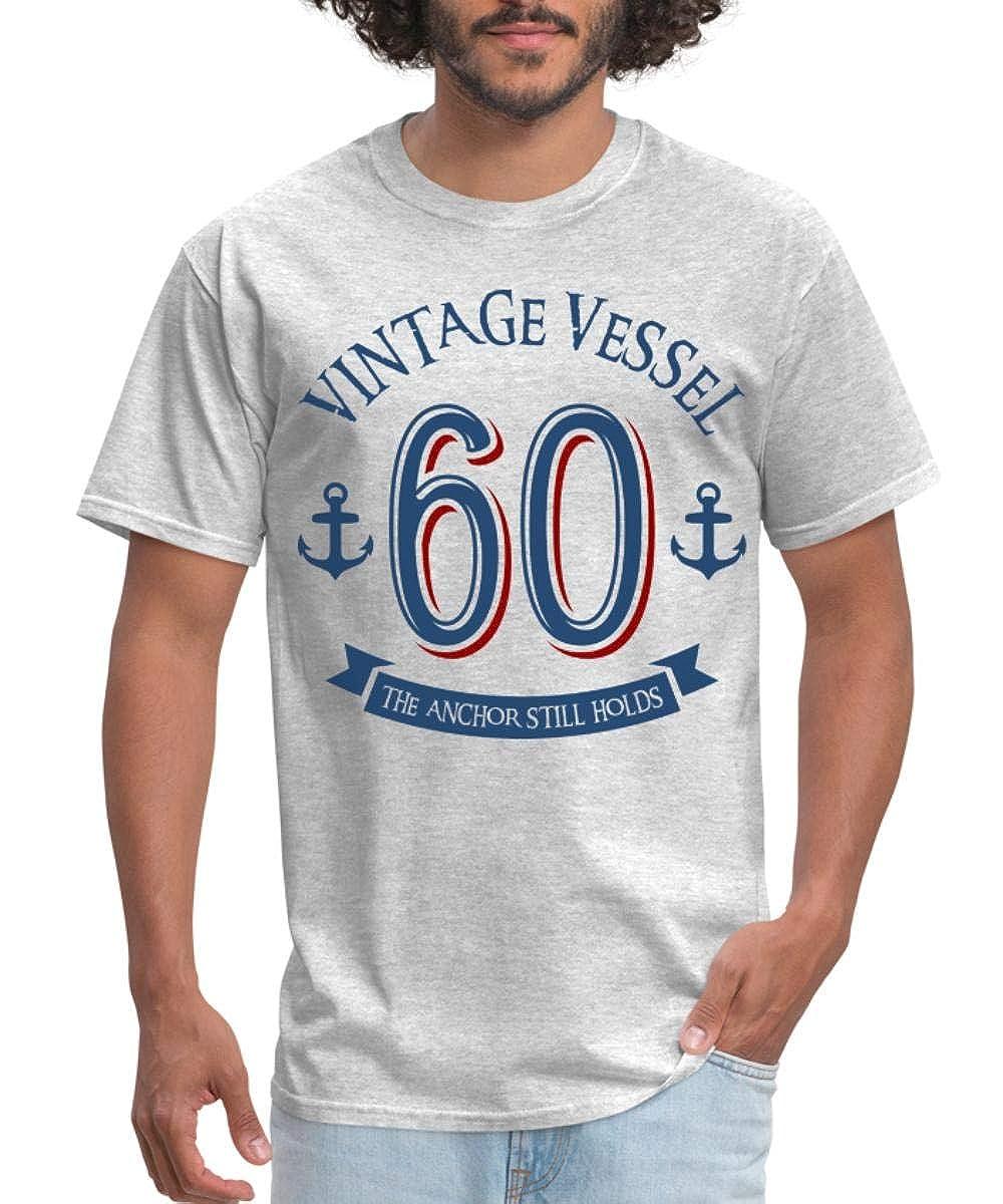 Amazon Spreadshirt Nautical 60th Birthday Vintage Vessel Mens T Shirt Clothing