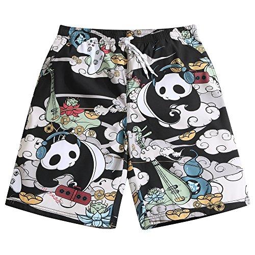 SULANG Men's Lightweight Quick Dry Panda Musician