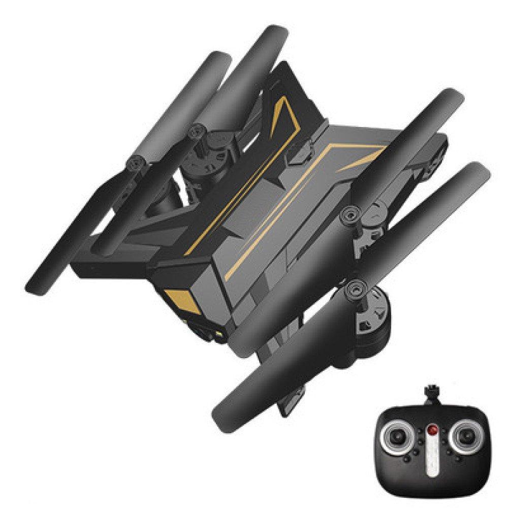 Plegable RC Drone Altura Hold Modo Sin Cabeza 2.4GHz 4-Axis Gyro Quadcopter Con Y Un Solo Botón Despegue Aterrizaje 3D Flip Steady Super Easy Fly Para Entrenamiento Bueno Para Niños Y Principiantes,4Batteries