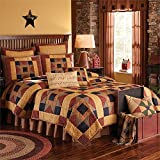 Park Designs Country Montclair 110 Inches x 97 Inches Cotton Patchwork King Quilt Comforters