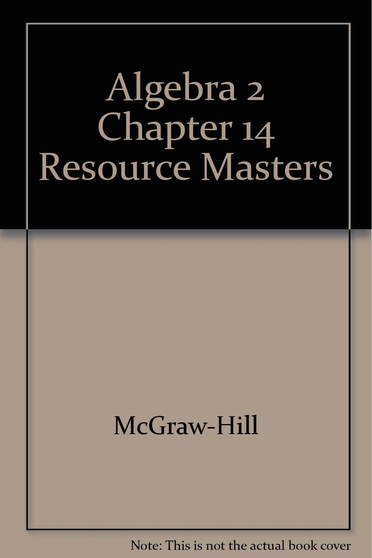 Download Algebra 2 Chapter 14 Resource Masters PDF