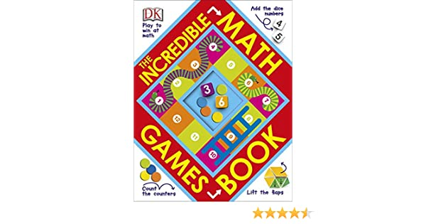 The Incredible Math Games Book: DK: 0790778036287: Amazon.com: Books