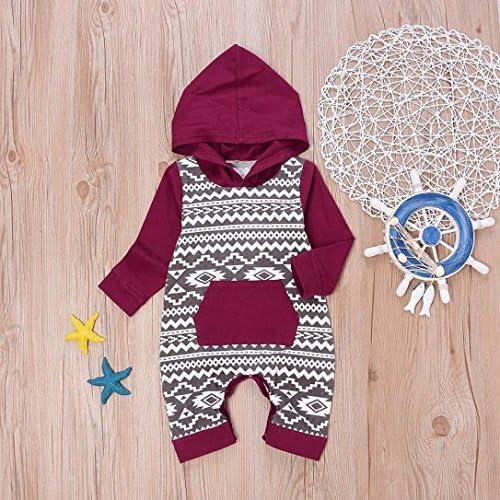 Memela Infant Boys Cool Hooded Romper Onesies Spring//Summer