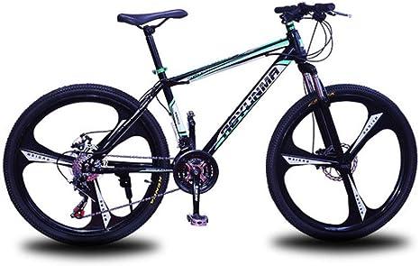 HAOHAOWU Bicicletas De Crucero, Unisex Bici del Camino De 26 ...