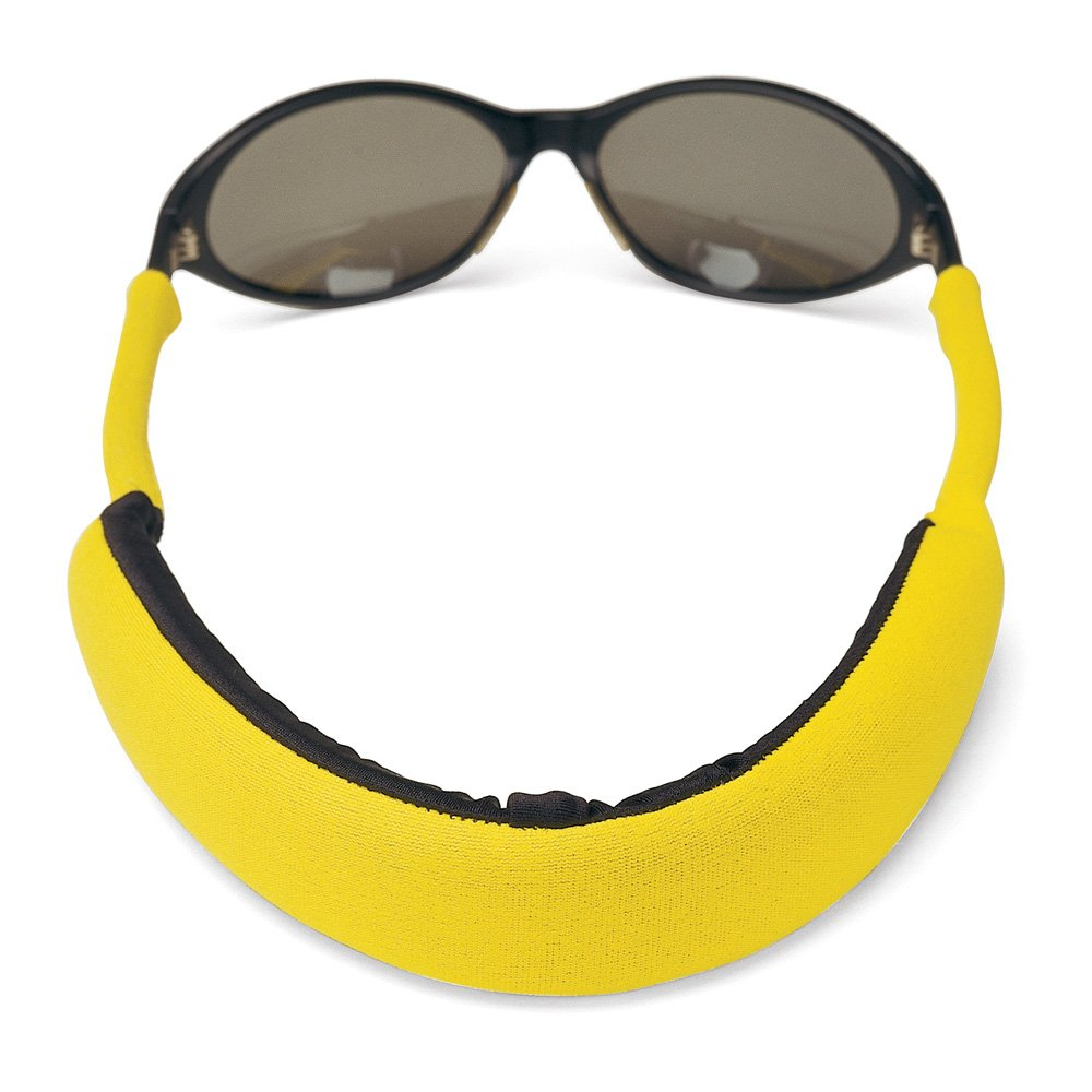 Croakies Extreme Floater Eyewear Retainer, Yellow by Croakies