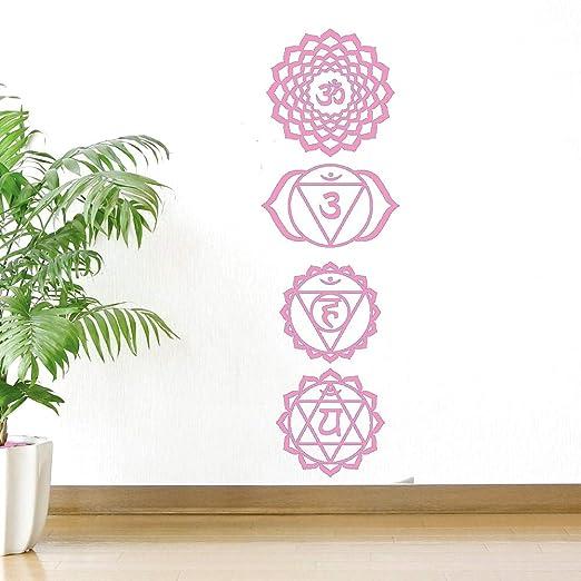 Creativo YOGA Studio Decoración Mural de pared Calcomanía ...