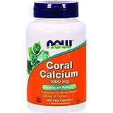 NOW Coral Calcium 1000 mg,100 Veg Capsules