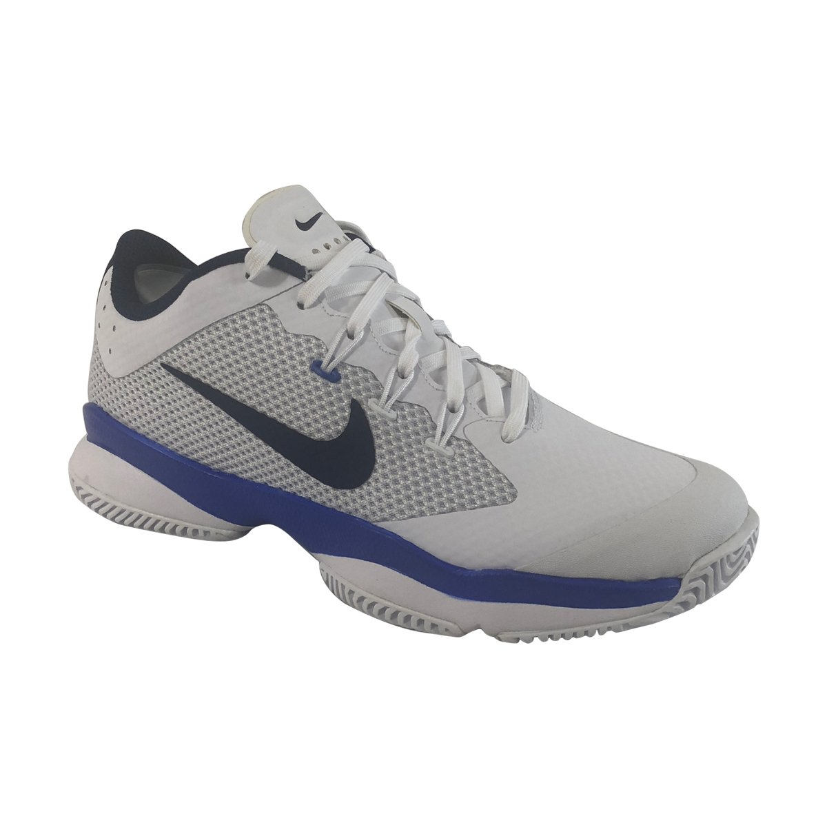 NIKE Women's Air Zoom Ultra Tennis Shoe B01N4GOW46 6 B(M) US|White/Binary Blue-mega Blue