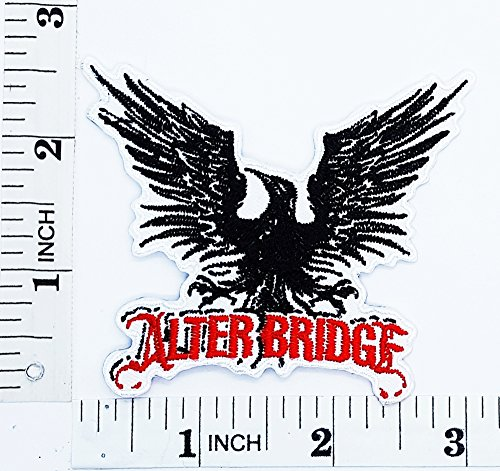 ALTERBRIDGE Bird Flying Wild Animal Choppers Rider Biker Tatoo patch Motorcyle Bike Novelty patch Symbol Jacket T-shirt Patch Sew Iron on Embroidered Sign Badge (Hawks Rock Animal)